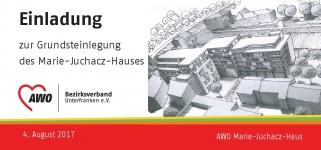 AWO MJH Einladung Grundsteinlegung 20170804