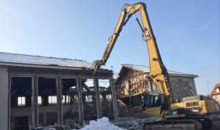 NES Neubau Stadthalle - Abbruch